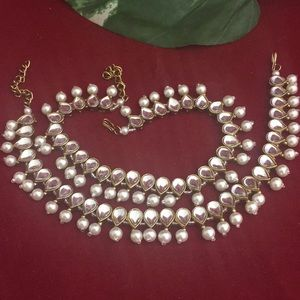 Jewelry - Nwot Mughal style pair of anklets final price!!!